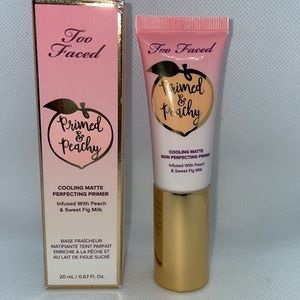 New TravelSize Primed & Peachy Primer by Too Faced